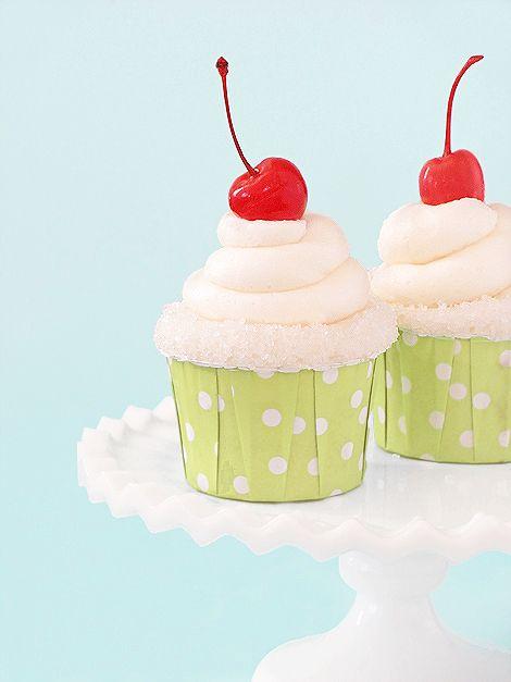 Appletini Cupcakes