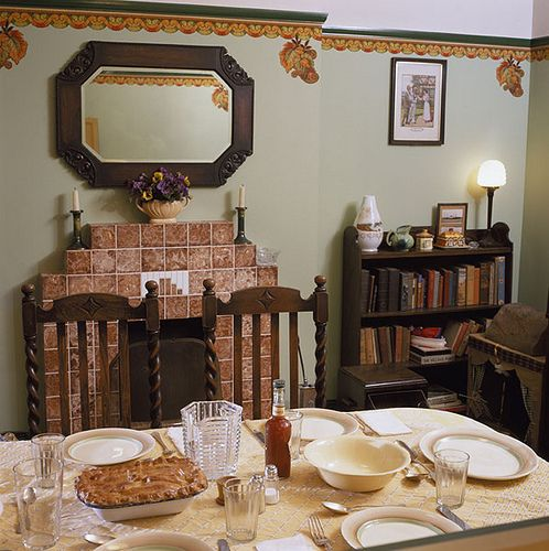 1940's House Dining Room
