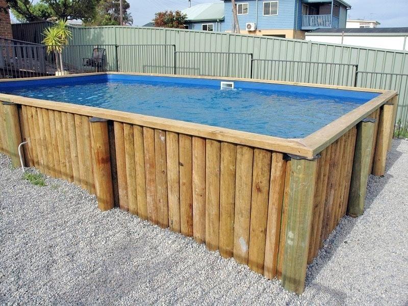 Rectangular Above Ground Pools S S Rectangle Inground Pool Designs