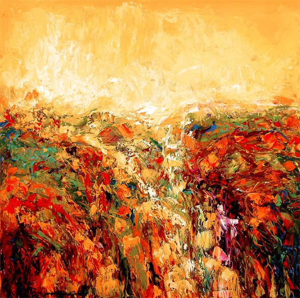 Chicago Contemporary Art :: Landscape Art Painting Prints - \