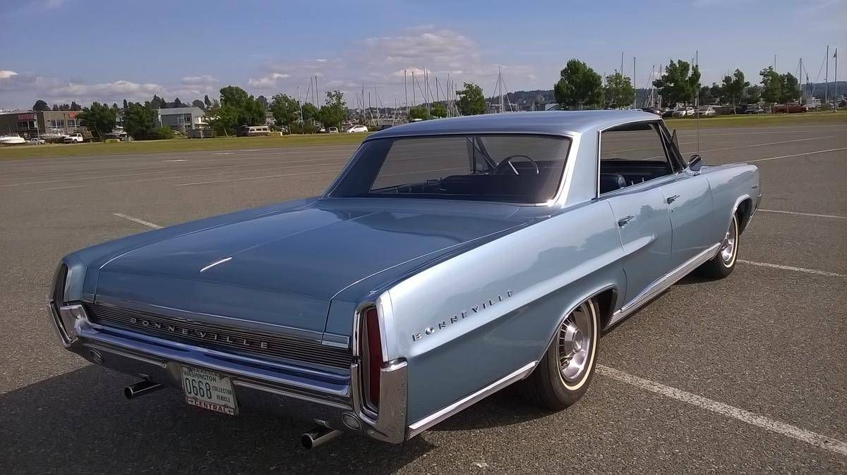 1964 pontiac bonneville 4 door hardtop for sale 1852006 hemmings motor news [ 1200 x 674 Pixel ]
