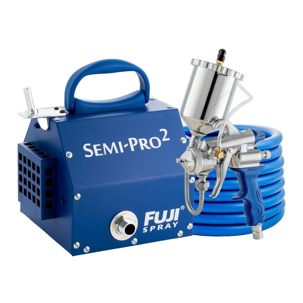 Fuji Spray Semi Pro 2 Gravity Hvlp Spray System 2203g In 2020 Hvlp Paint Sprayer Hvlp Sprayer Electric House