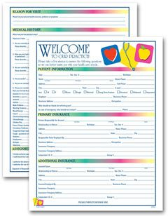 Two Sided Medical Icon Design Registration History Form Free Shipping Medical Icon Medical History Medical
