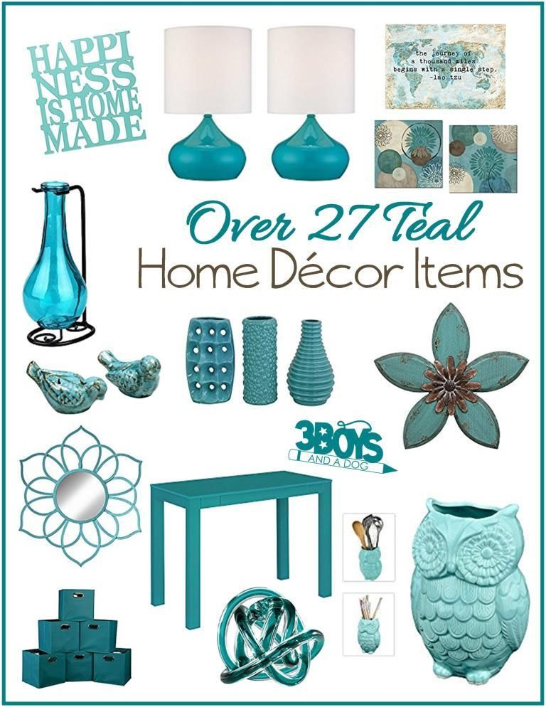 Aqua Or Teal Home Decor Accent Pieces Teal Home Decor Teal Decor Turquoise Home Decor