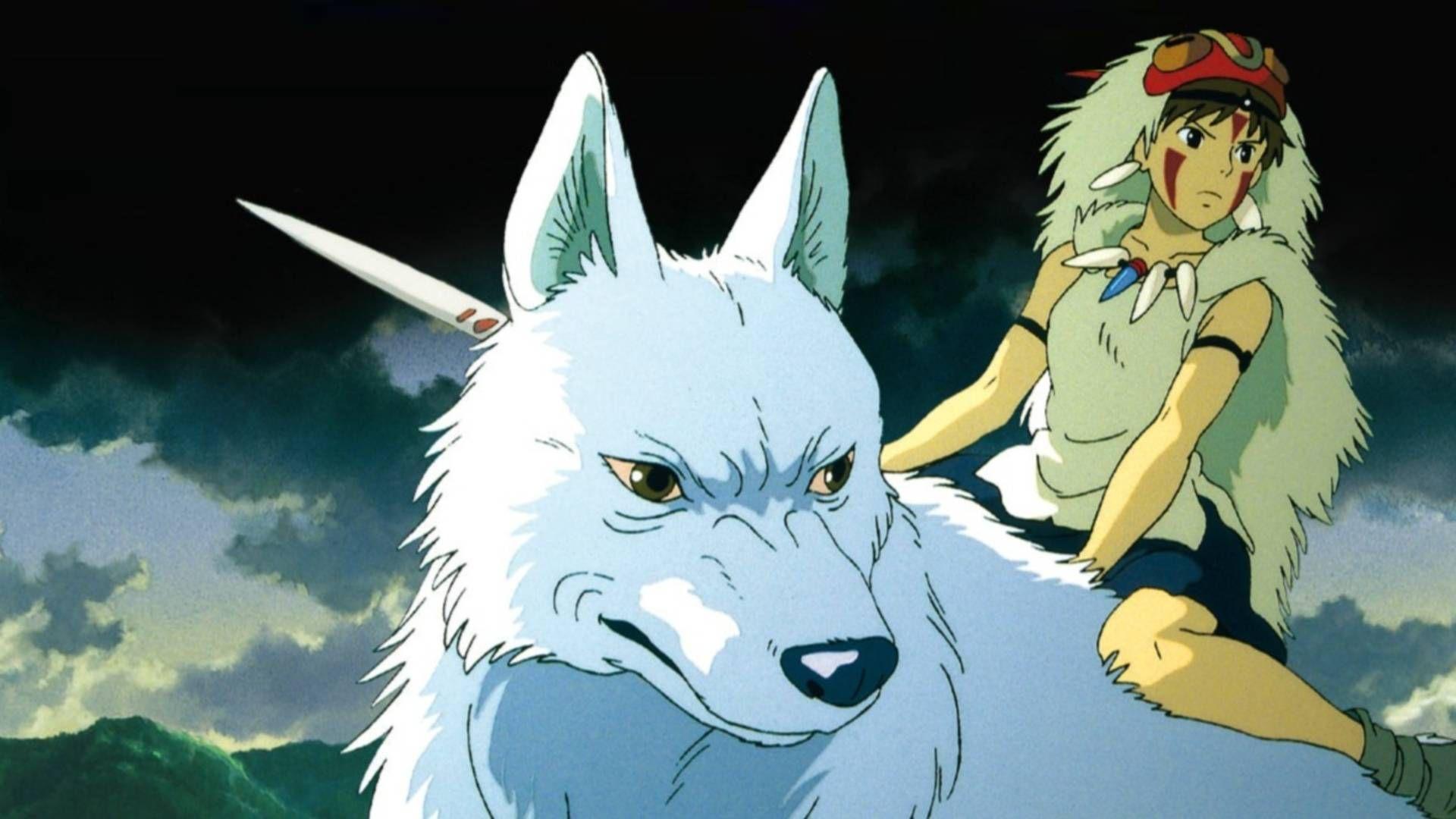 Princess Mononoke Studio Ghibli Wallpaper Princess Mononoke Wallpaper Ghibli Art Princess Mononoke