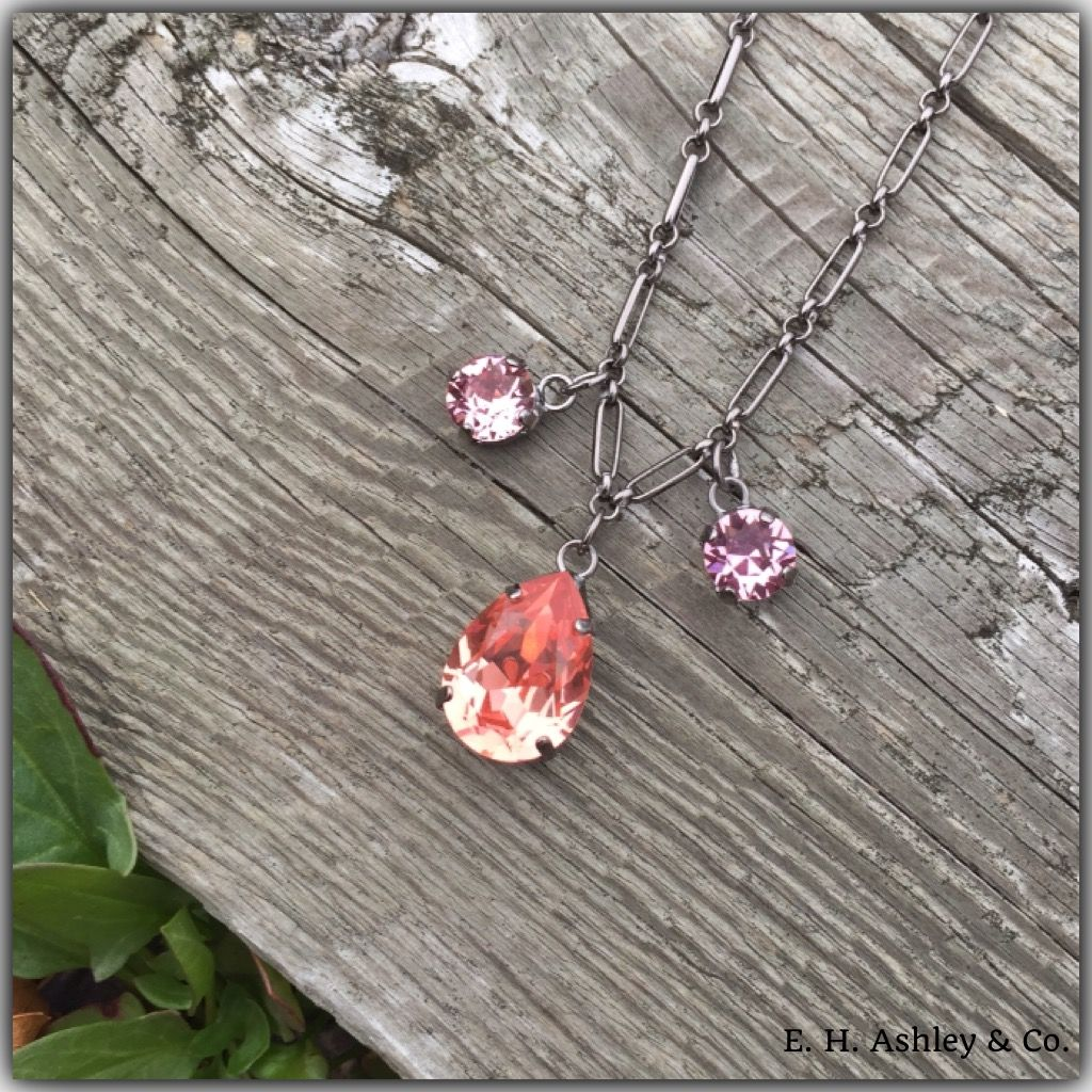 Check out E.H. Ashley's New Fancy Necklaces? You can find these beautiful necklaces at www.ehashley.com or just call your E.H. Ashley sales rep for more questions! (Article FN200)