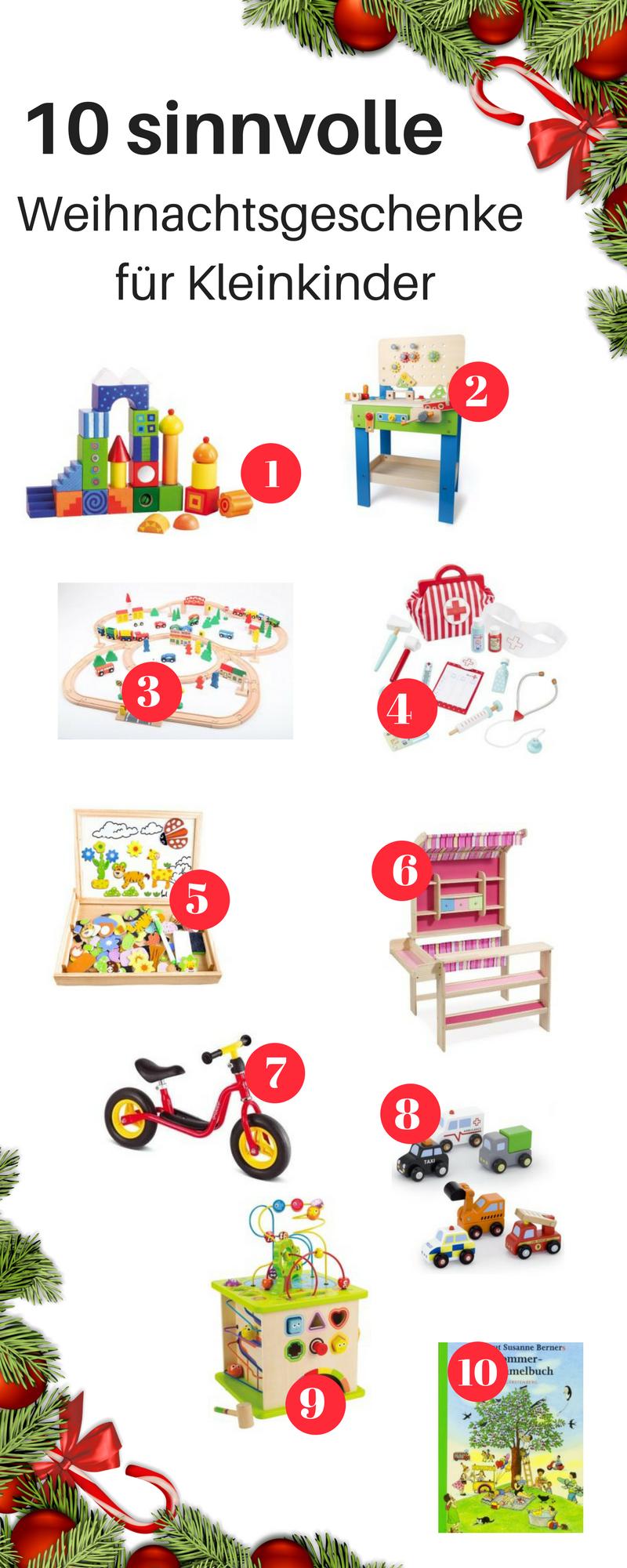 Weihnachtsgeschenke Für Kinder.Sinnvolle Weihnachtsgeschenke Für Kleinkinder Zwischen 1 3 Jahren
