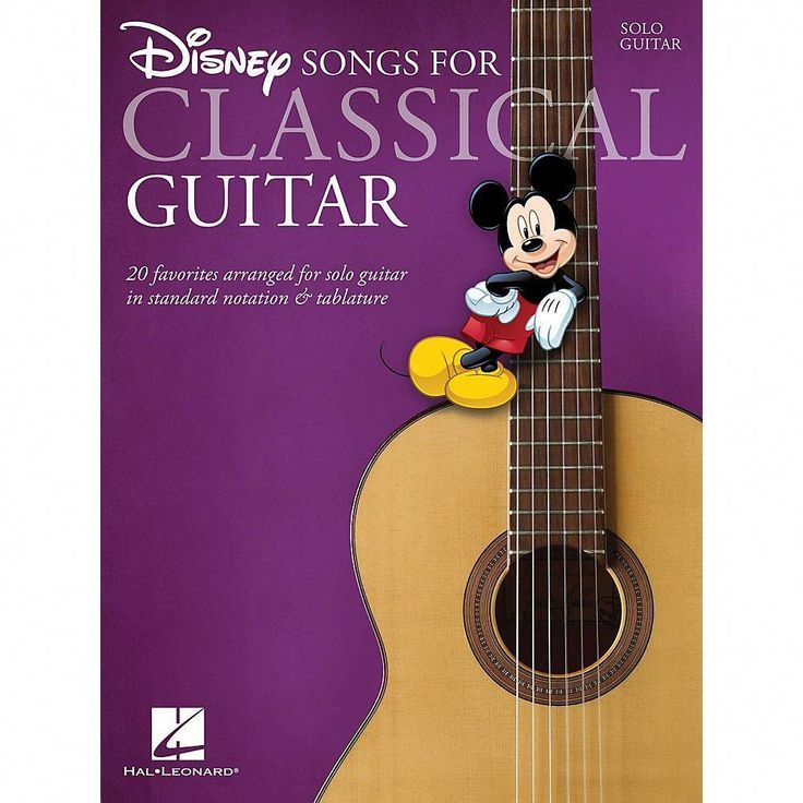 Hal Leonard Disney Songs for Classical Guitar (Standard Notation & Tab) Guitar S… – Musik-Noten