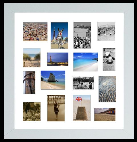 Large Square Black Multi Picture 24x24 Pic Photo Frame Picture