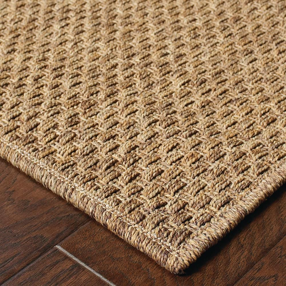 Home Decorators Collection Sanibel Dark Natural 4 Ft X 6 Ft Indoor Outdoor Area Rug 1692410820 The Home Depot Solid Area Rugs Area Rugs Patio Rugs