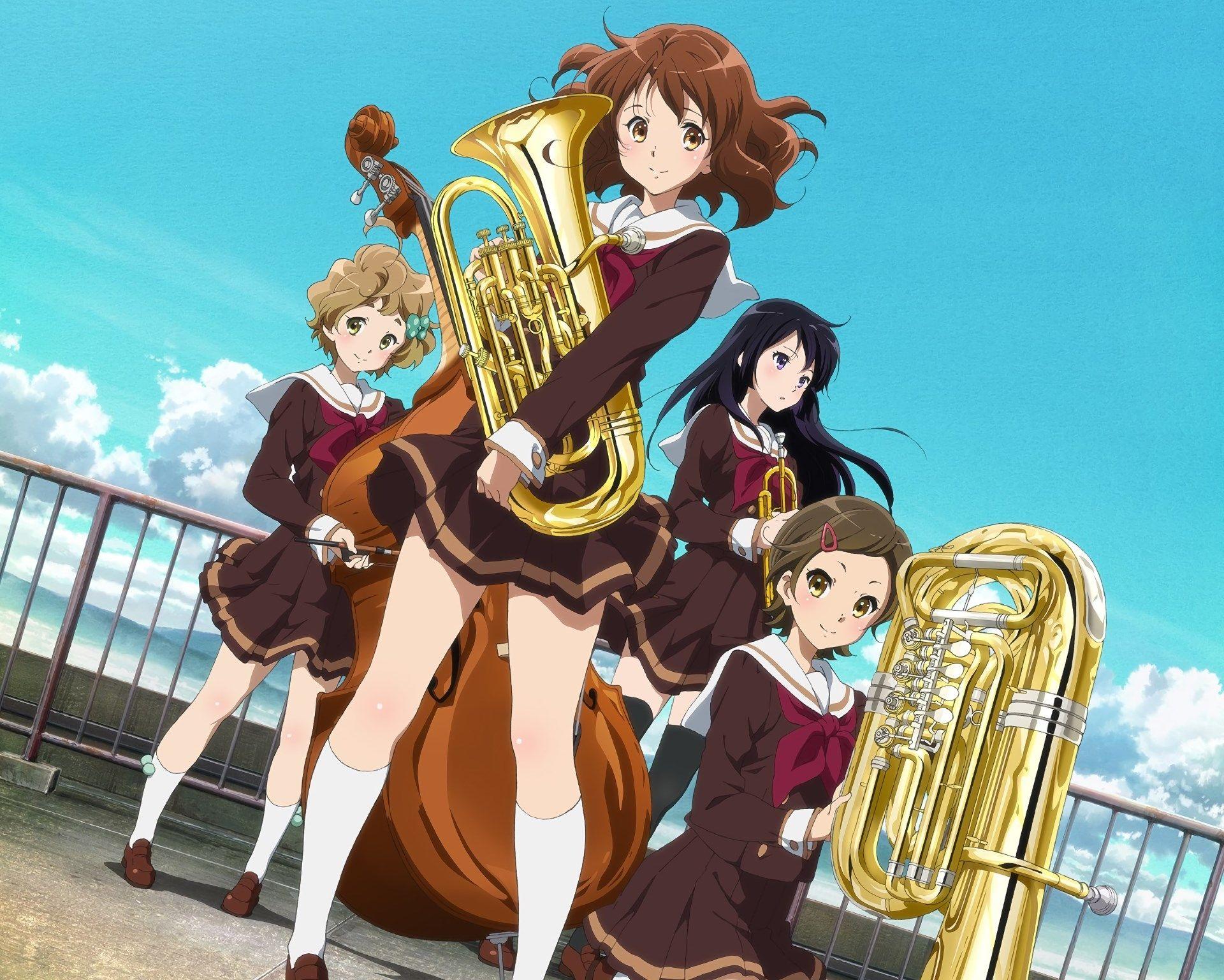 sound euphonium Full HD Background 1920x1536 Anime