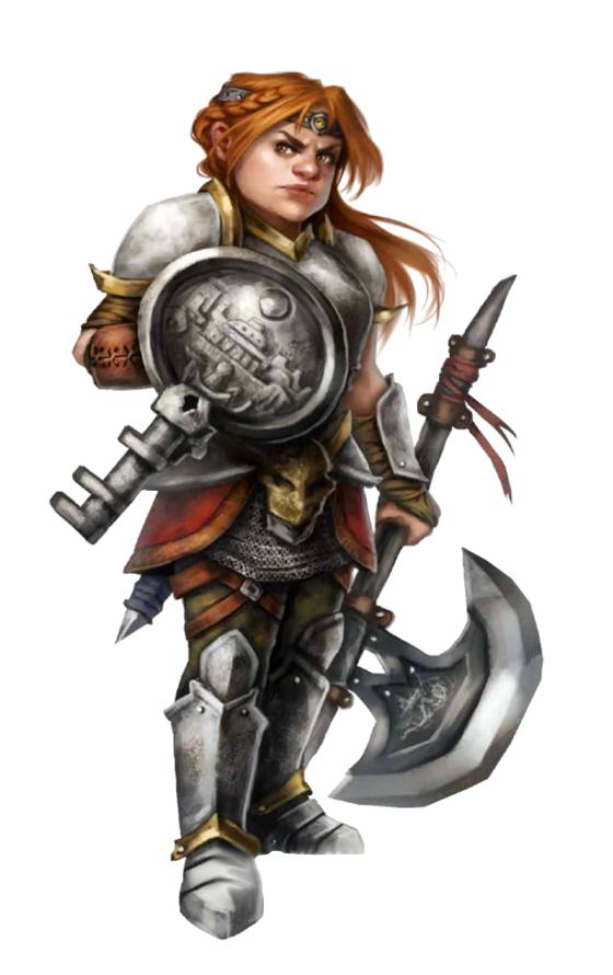 Female Dwarf Cleric of Abadar - Pathfinder PFRPG DND D&D ...  Female Dwarf Cl...