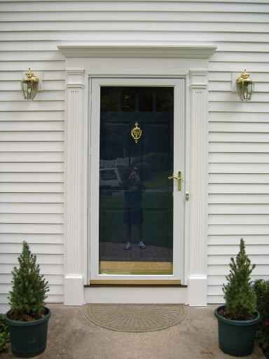 Pin By Carla Jp On There S No Place Like Exterior Door Trim