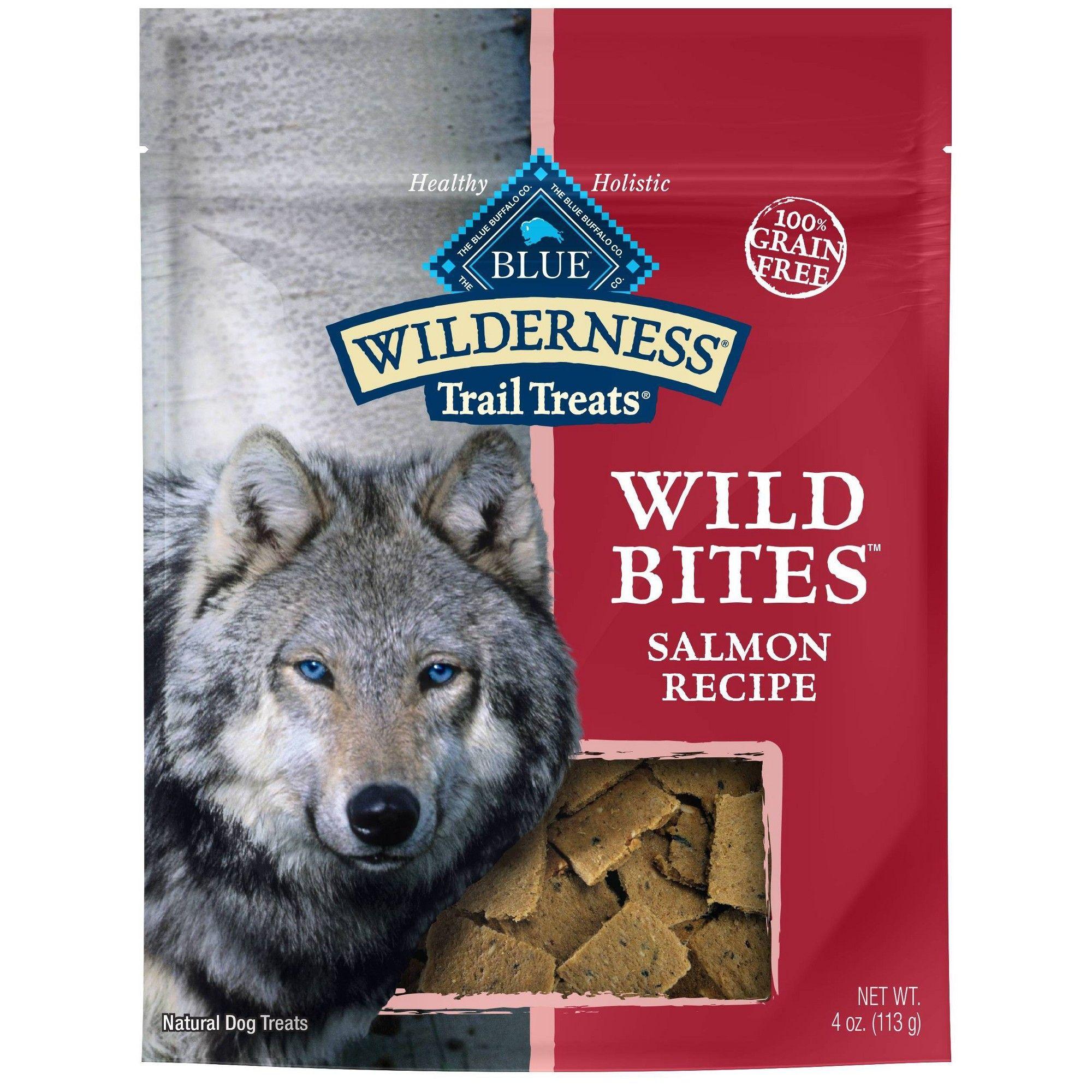 Blue Buffalo Wilderness 100 Grain Free Wild Bites Salmon Recipe