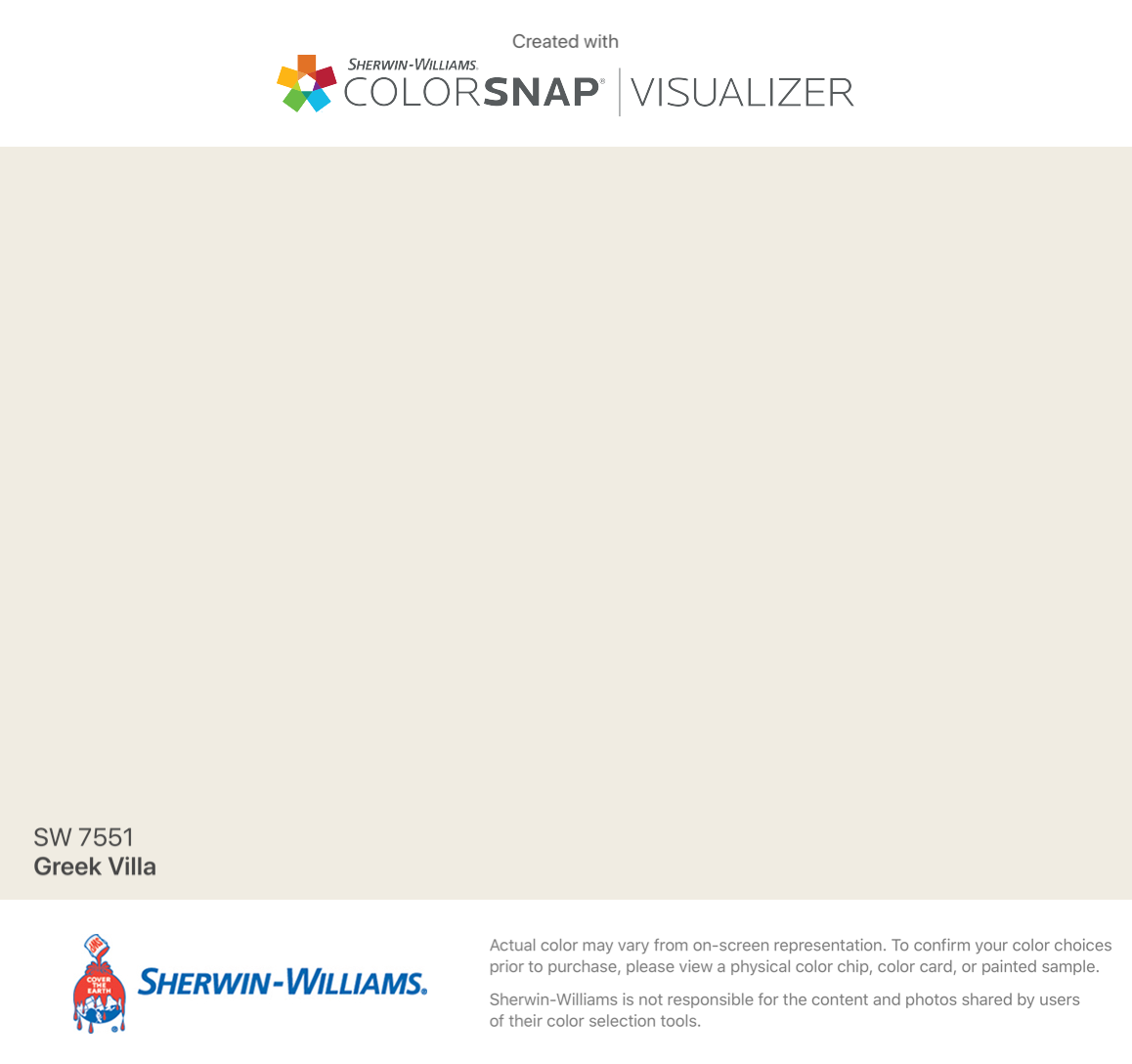 I Found This Color With Colorsnap Visualizer For Iphone By Sherwin Williams Greek Villa Sw 7551 Greek Villa Sherwin Williams Greek Villas Living Room Colors