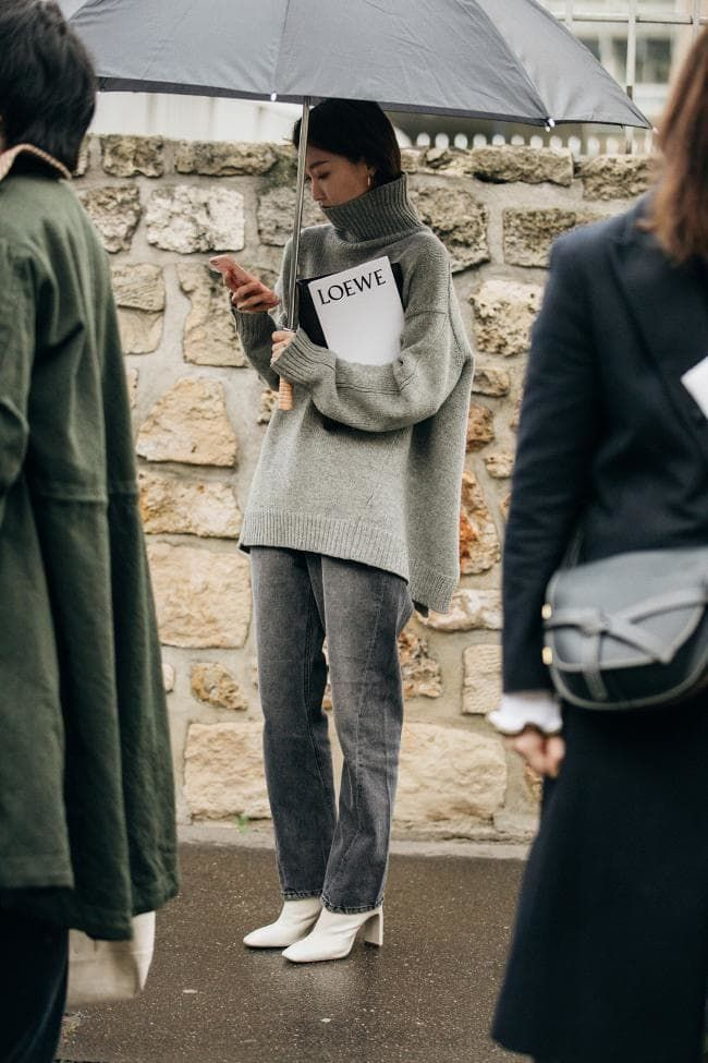 The best street style at Paris Fashion Week autumn/winter '19/'20 #streetstyleclothing