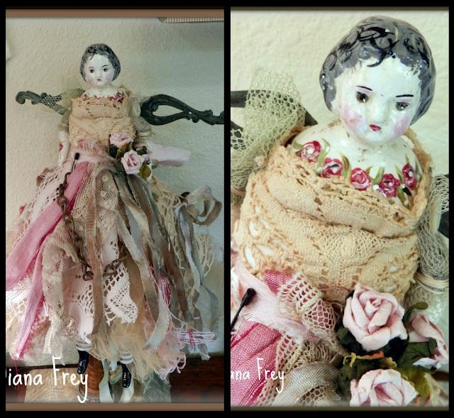I'm not much of a doll person but this is just lovely!