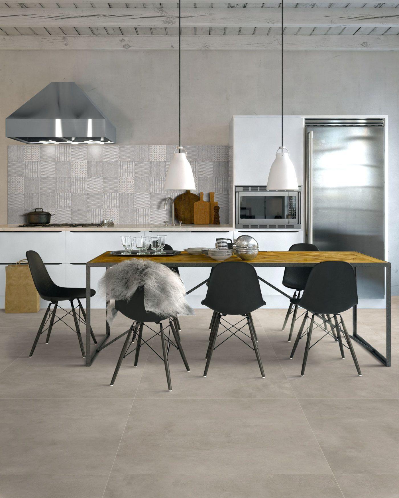 Best Cemento Light Grey Matt Porcelain Tile Mandarin Stone 400 x 300
