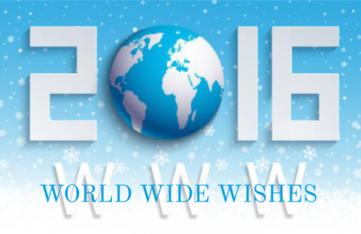 Internationale nieuwjaarsgroet
