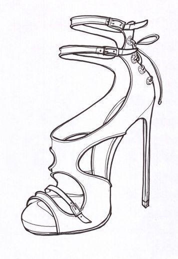 Accessories Sketch Zubehr Tabitha Simmons Simmons Tabitha 2020 Tasarim Ayakkabilar Sanat Ayakkabi Moda Cizimleri