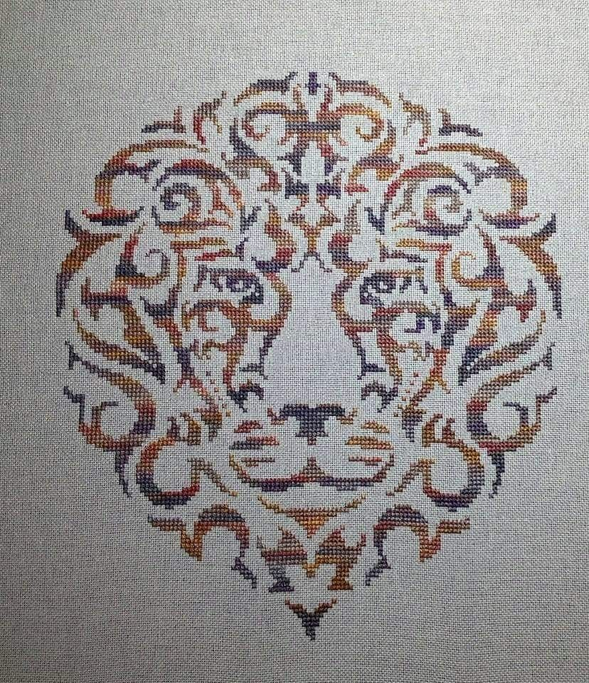 King of the Jungle Fiberlicious pattern and Fiberlicious