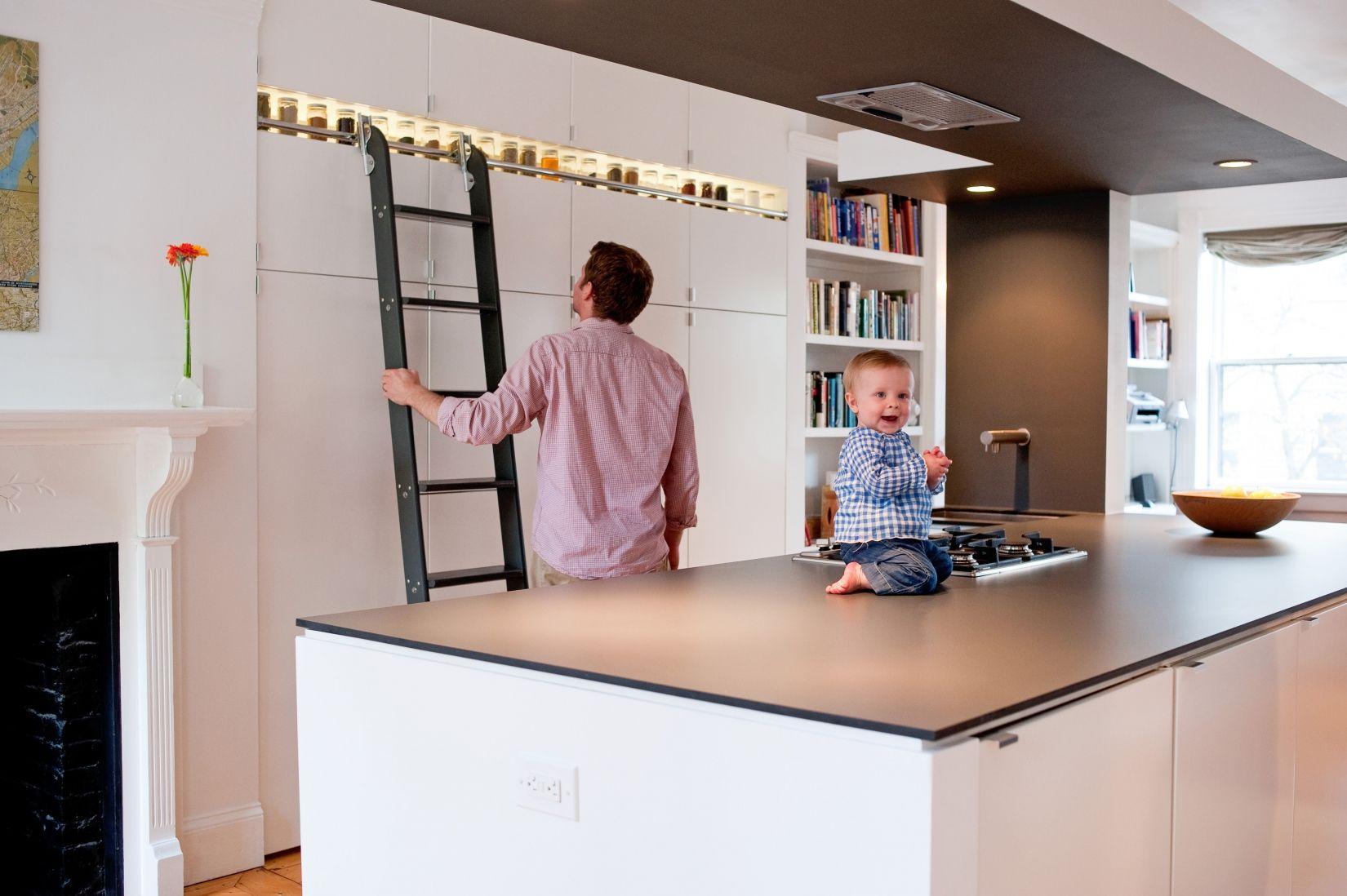 Kitchen Designers Boston Gorgeous Bunker Workshop  Interior Design Bostonputnam Rolling Ladder Decorating Inspiration