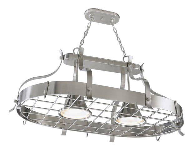 Perfect Pot Racks  Pot Rack Industrial And Lights Best Kitchen Lighting Lowes Design Inspiration