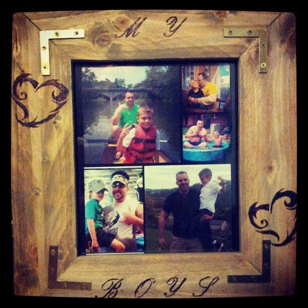 Pallet wood frame #2