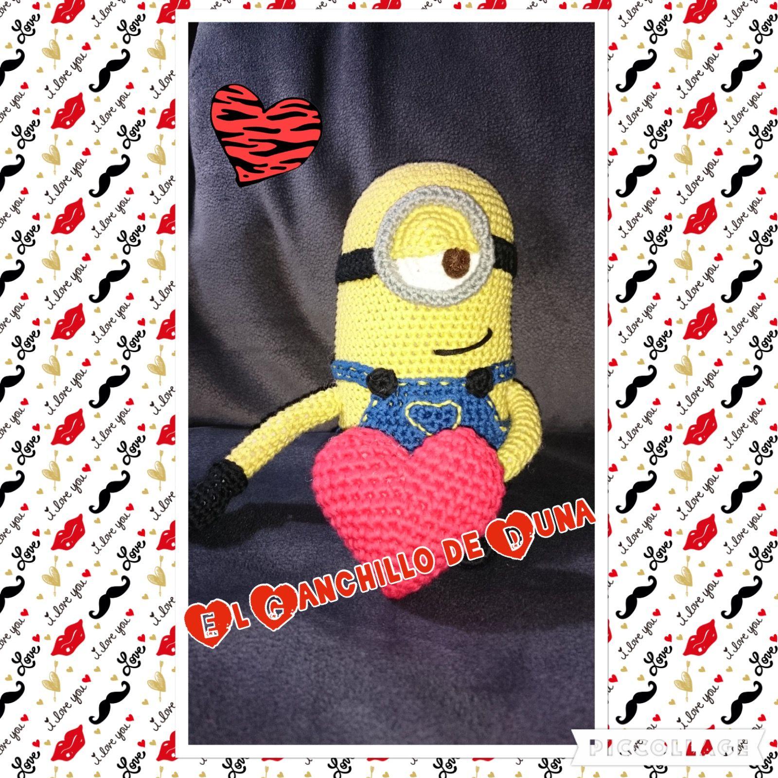 Minion #crochet #ganchillo