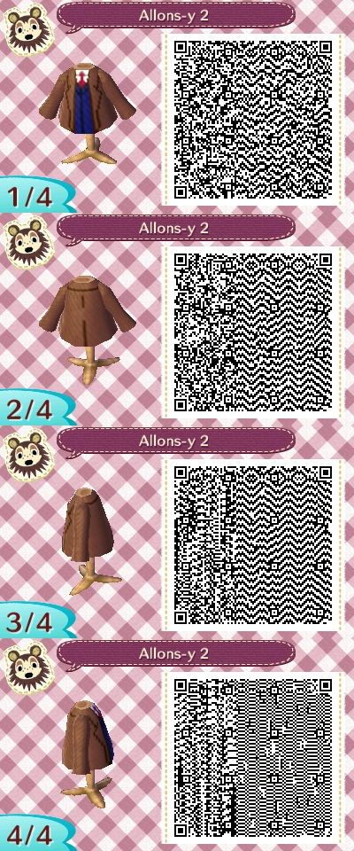 Animal Crossing New Leaf Qr Codes Shirts With Images Animal
