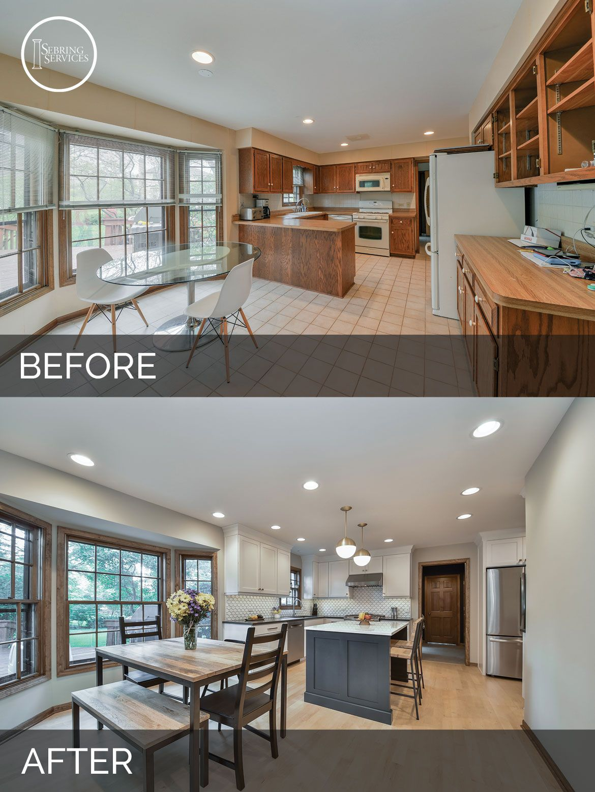 Before And After Kitchen Remodeling Naperville