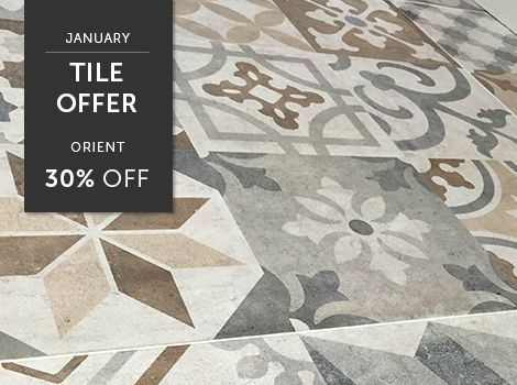 Monthly Tile Offers Save 30 On The Stunning Patterned Orient