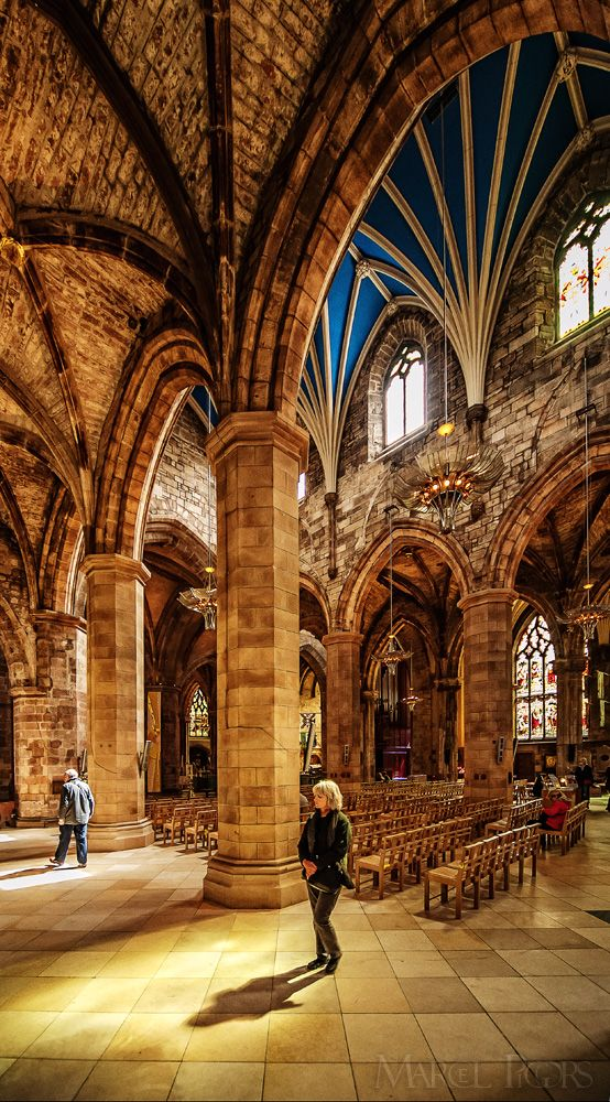 St. Giles Cathedral © Marcel Pigors