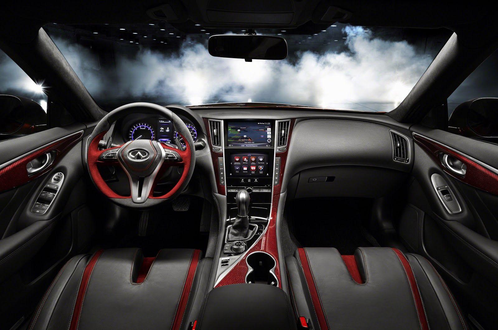 Motor Proyect: INFINITI Q50 EAU ROUGE CONCEPT. El coche del diablo