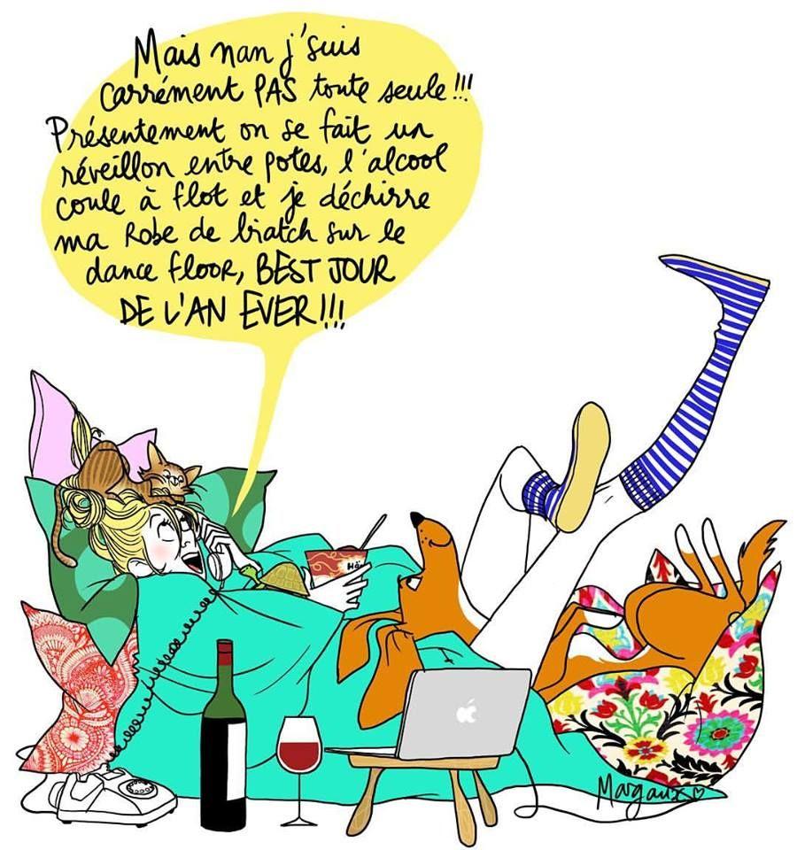 Reveillon Du Nouvel An Humour Dessin Humoristique Images Droles
