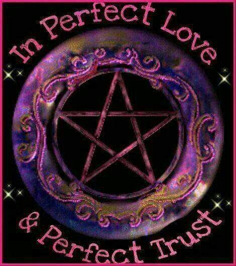 In perfect love | Wiccan wallpaper, Wiccan, Wiccan witch