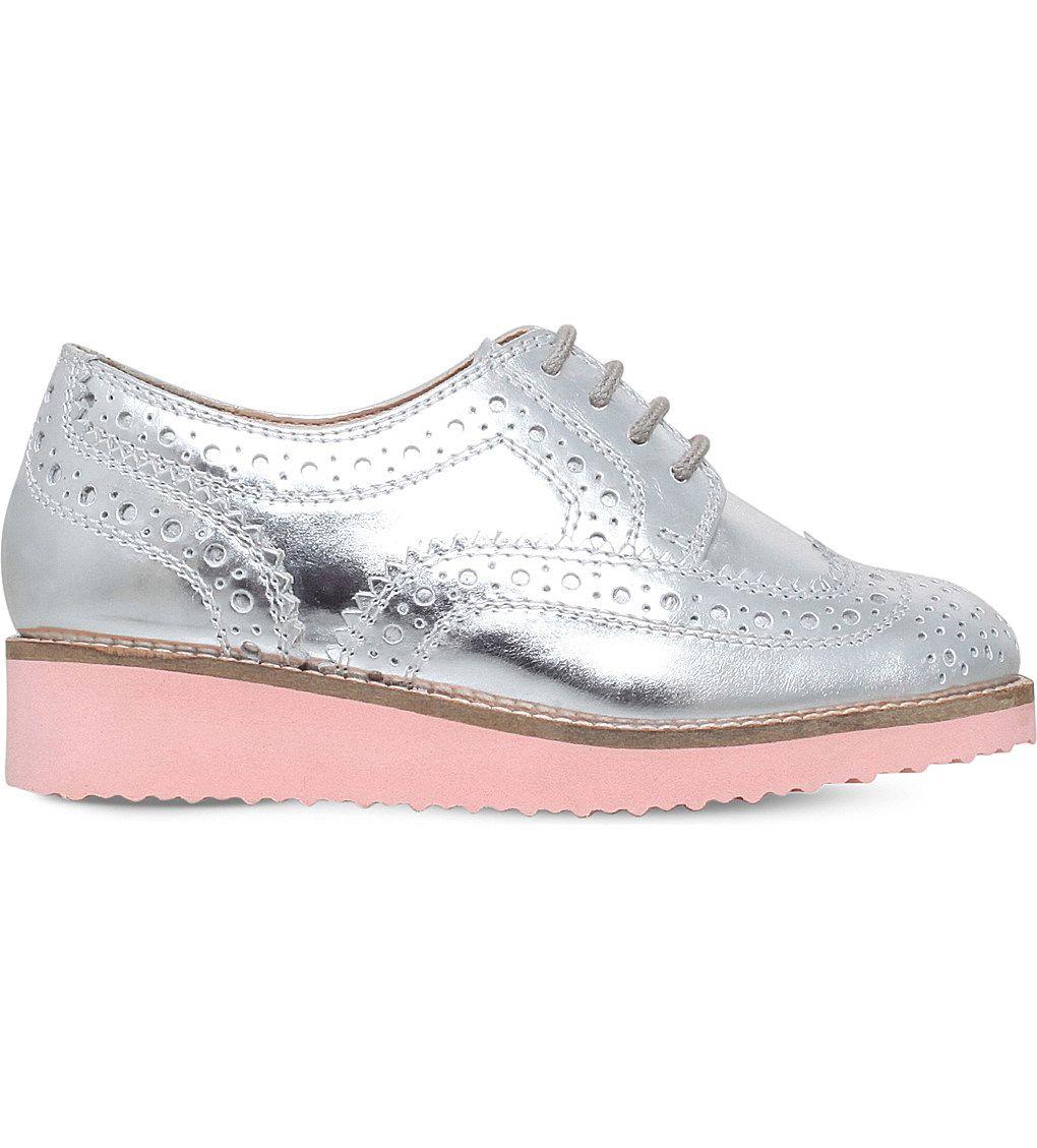 Skate shoes knox city - Mini Miss Kg Mini Knox Metallic Brogues 9 12 Years Selfridges Com
