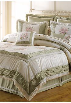 Bedding Cuscini.Home Accents Collette 8 Piece Luxury Bedding Collection Belk