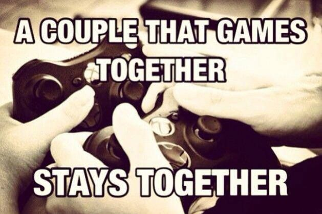 Living Together Is Living While Together Gamer Couple Gamer Quotes Game Quotes