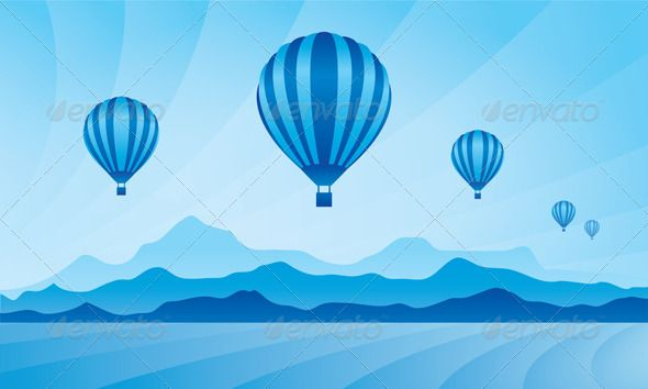 Air Balloon in the Sky Vector Skyline Illustration  #GraphicRiver         Air balloon in the sky Vector skyline illustration. Full editable EPS 10. File contains gradients and transparency.     Created: 11June13 GraphicsFilesIncluded: JPGImage #VectorEPS Layered: No MinimumAdobeCSVersion: CS Tags: aerostat #air #background #balloon #cloud #cloudscape #entertainment #flying #freedom