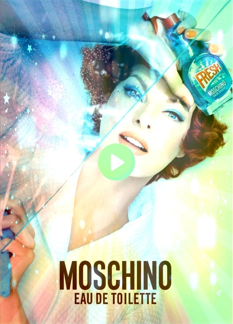 Goes 50s Housewife for New Moschino Fragrance Linda Evangelista in Moschino Fresh fragrance 2015 campaignLinda Evangelista in Moschino Fresh fragrance 2015 campaignEvange...
