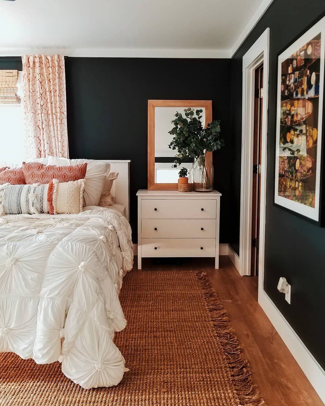 Black Master Bedroom Set Newborn Bedroom Sets Bedroom Ceiling Plan Pink Accent Wall Bedroom: Really Really Enjoy Our New Bedroom Layout But Man I Miss
