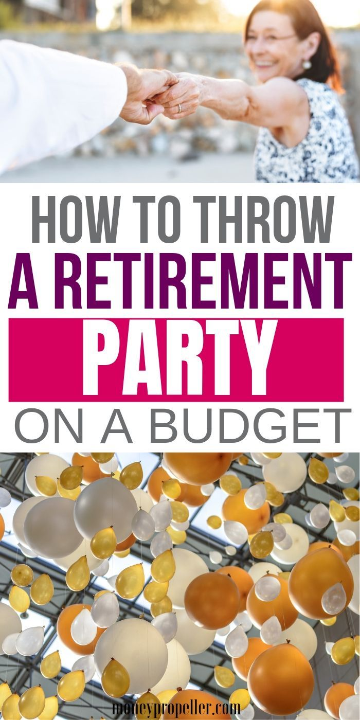 Photo of Wie man eine Ruhestandsfeier auf ein Budget wirft – # auf #a # Budget # …