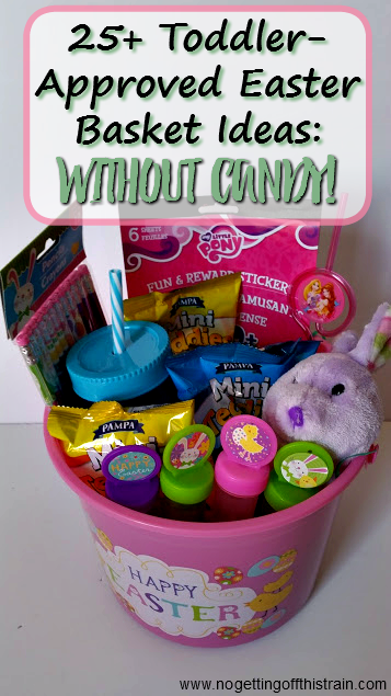 ToddlerApproved Easter Basket Ideas No Candy Easter baskets