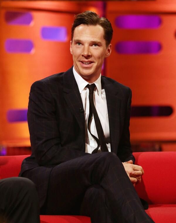 Benedict Cumberbatch on the new series of the Graham Norton Show on Friday BBC1 10.35