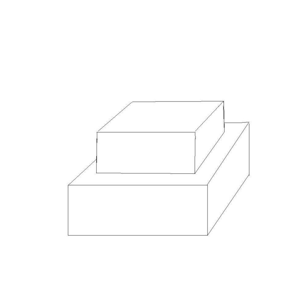 two tier square cake template cake templates pinterest cake templates square cakes and cake. Black Bedroom Furniture Sets. Home Design Ideas