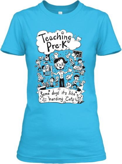 Teaching PreK Like Herding Cats! Teespring