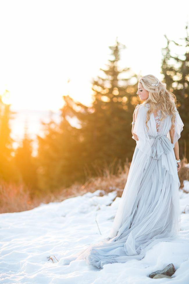 Whimsical & Romantic Cinderella Bridal Inspiration ...  Тематические Свадьбы Зимой
