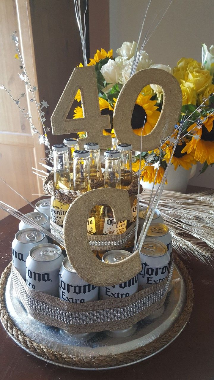 Corona Beer Cake 40th Fiestas De Cumplea 241 Os Hombre