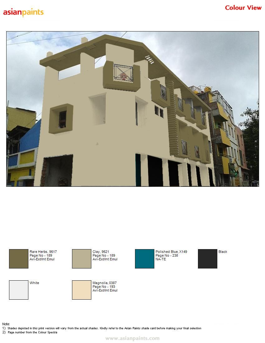 Pin By Hemapreethi On Color Combinations Asian Paints Colour Shades Exterior Paint Color Combinations Asian Paints Colours
